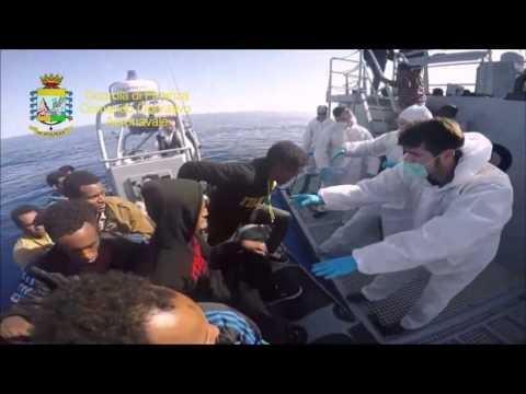 Strage di migranti, il video del salvataggio
