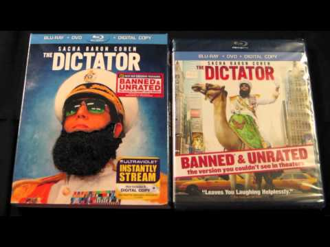 Unboxing: The Dictator Best Buy Exclusive Blu-ray