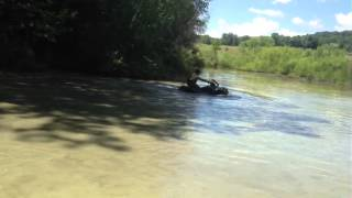 10. 2012 Honda Rancher 420 in action
