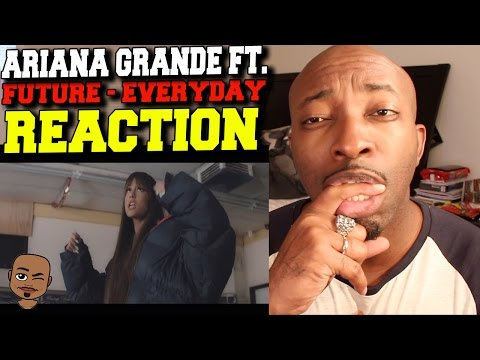 Music Video - Ariana GRANDE - Everyday ft. Future Official Video (REACTION)