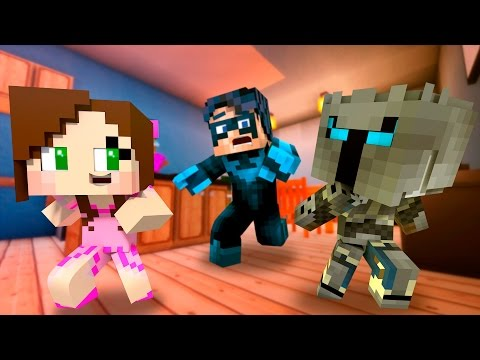 Pat and Jen Become BABIES and BLOW UP a House! (Minecraft Who's Your Daddy Roleplay) Teen Titans GO! (видео)