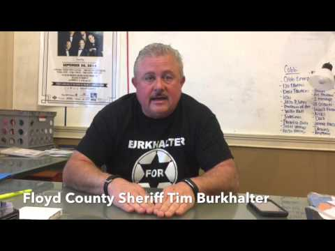 Tim Burkhalter - Coosa Valley News Person of the Week