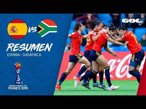 RESUMEN  España 3-1 Sudáfrica