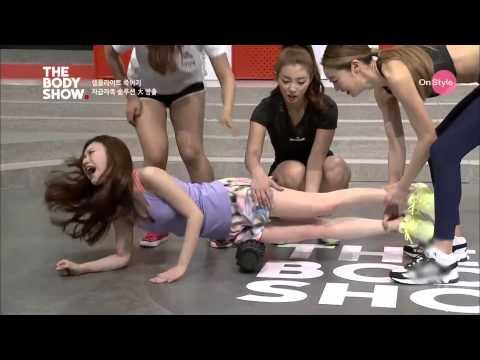 韓女星上節目磨大腿,這叫聲太銷魂了!