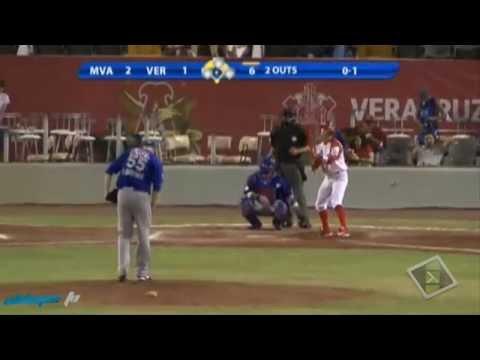 Home Run de Alex Cabrera - Aguilas de Veracruz
