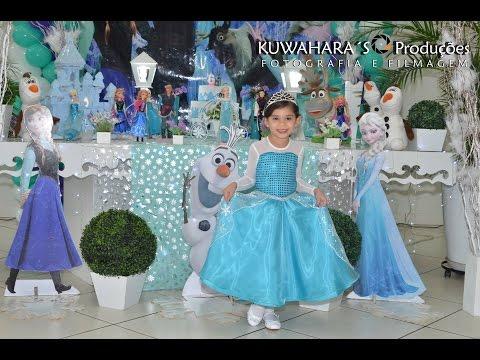 Video Festa de Aniversário com o tema Frozen da Isabela 6 anos download in MP3, 3GP, MP4, WEBM, AVI, FLV January 2017