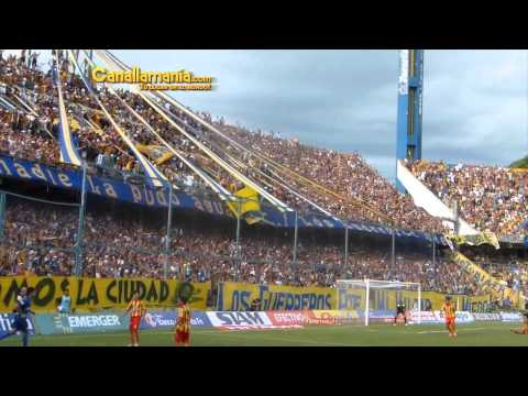 Video - Hinchada Rosario Central vs Boca Unidos 16-02-13 (Canallamania.com) HD - Los Guerreros - Rosario Central - Argentina