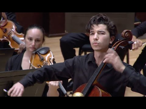 See video Sphinx Competition 2020 First Prize, Gabriel Martins plays Elgar Cello Concerto, Mvt. IV