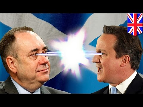 Minute - NOTE: Apologies for the accent. With just one day to go, the referendum on Scottish independence is still too close to call. Scottish First Minister Alex Salmond and his rival UK Prime Minister...