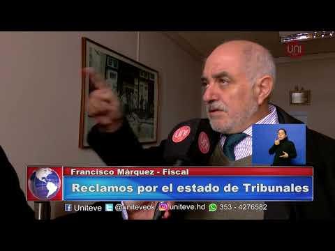 Márquez minimizó los problemas edilicios de tribunales