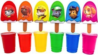 Video Learn Colors Dye Coloring Ice Cream Popsicles | Colors with Paw Patrol Pups MP3, 3GP, MP4, WEBM, AVI, FLV Mei 2017