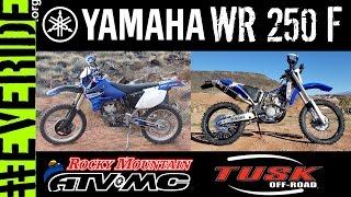2. Yamaha WR250F Rocky Mountain ATV MC TUSK Makeover/Rebuild! o#o