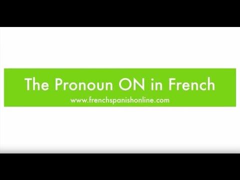 Das Pronomen ON im Französischen