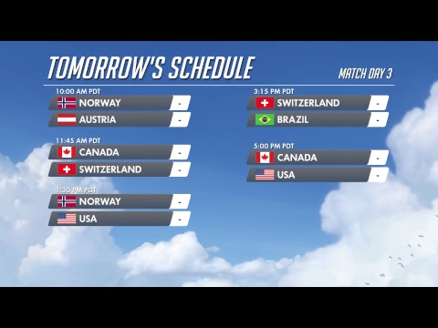 Video Overwatch World Cup USA 2018 - Day 2 download in MP3, 3GP, MP4, WEBM, AVI, FLV January 2017