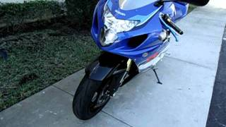 5. 2005 Suzuki GSXR 600 Anniversary edition for sale at Riva Motorsports Pompano ...$4699