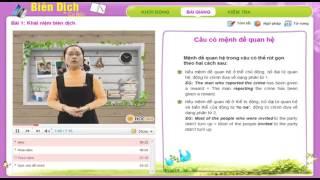 Video hướng dẫn học dịch thuật tài liệu tiếng Anh