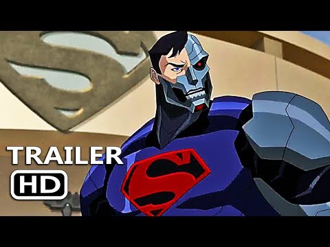 REIGN OF THE SUPERMEN Official Trailer (2019) Superman DC Superhero Movie