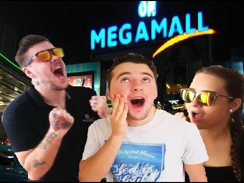 MEGA MALL IS CRAZY!!! ENGLISH IN THE PHILIPPINES VLOG EP.2 (MEGA MALL, ARCHERY AND NOODLE SOUP)