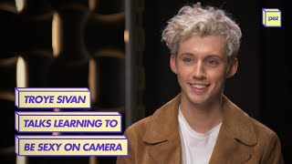 Video Troye Sivan Talks Learning To Be Sexy On Camera download in MP3, 3GP, MP4, WEBM, AVI, FLV January 2017