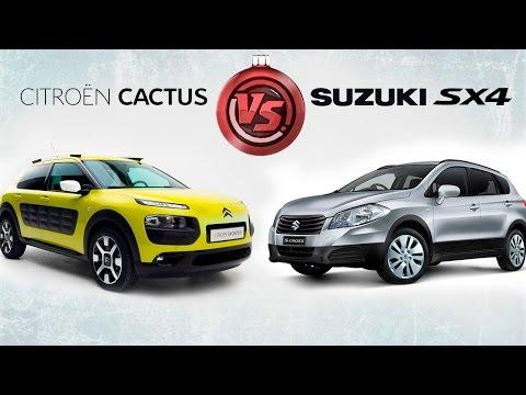Стиль или практичность? Тест Citroen C4 Cactus и Suzuki SX4