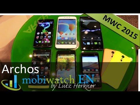 Von 4,5 bis 6,3 Zoll: Archos stellt 6 Smartphones auf MWC vor – Test