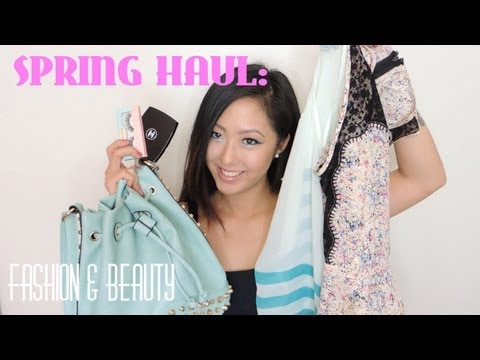 HAUL: Designer Bargains, Spring Fashion Trends, Beauty Essentials, Mint Accessories!