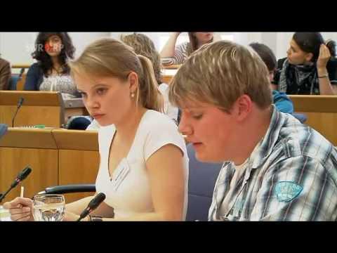 Jugend debattiert - Landesfinale 2010 - Rheinland-Pfalz: