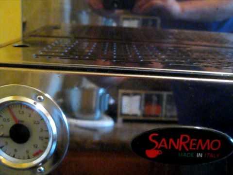 SanRemo Capri espresso machine