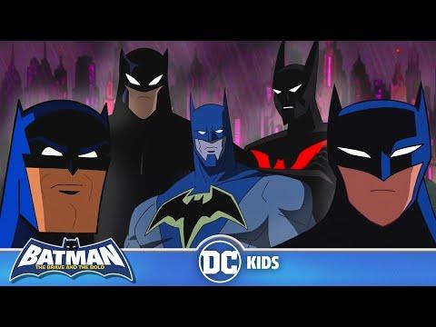 An Animated History of Batman | Batman Day | DC Kids