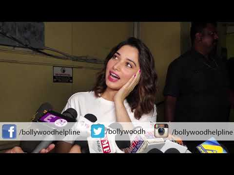 Tamannaah at Screening of Ritesh Batra's '#Photograph' movie