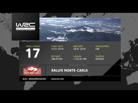 WRC - Rallye Monte-Carlo 2018: The 17 Stages