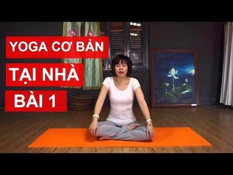 Yoga cơ bản tại nhà - Bài 1: Kéo dãn, làm m�m cơ và khớp để có thể luyện tập Yoga cùng Nguyễn Hiếu