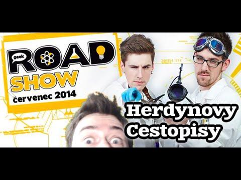 Herdynovy cestopisy: Geek Roadshow Brno, České Budějovice, Plzeň a Liberec