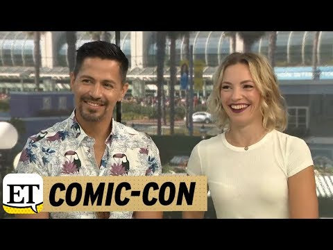 Jay Hernandez and Perdita Weeks Talk Magnum P.I. | Comic-Con 2018