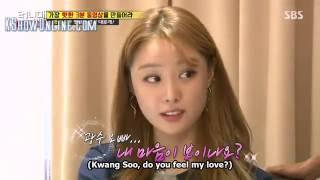 Video Song Ji Eun confess her love towards Lee Kwang Soo on Running Man MP3, 3GP, MP4, WEBM, AVI, FLV September 2018