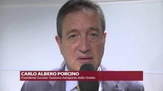 Reggio Calabria - Aeroporto Dello Stretto: l'intervista su ESPERIA TV del Presidente del CdA Sogas SpA Dott. Carlo Alberto Porcino