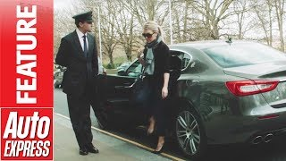 How to be a celebrity chauffeur - learning the ropes in a Maserati Quattroporte by Auto Express