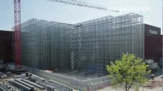 Villmergen Switzerland  city photos gallery : Construction of a Clad Rack High Bay Warehouse in Fast Motion