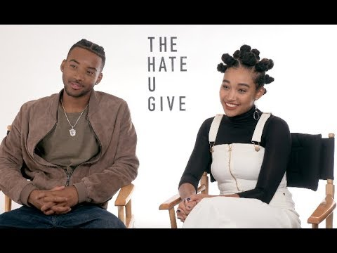THE HATE U GIVE interviews - Stenberg, Apa, Smith, Carpenter, Hornsby, Mackie, Hall