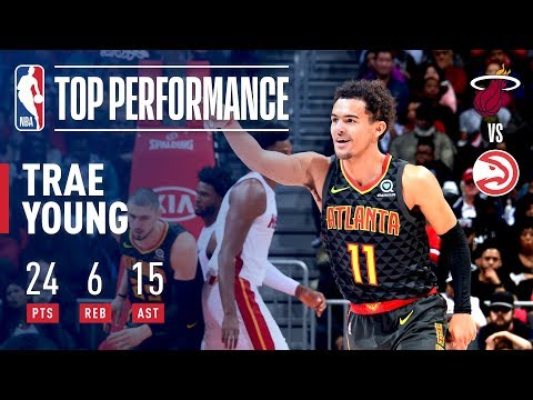 Video: Rookie Trae Young is DOMINANT In Victory Over Miami Heat | November 3, 2018
