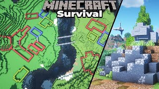 Starting a Brand New VILLAGE Build Project in Minecraft 1.15 Survival