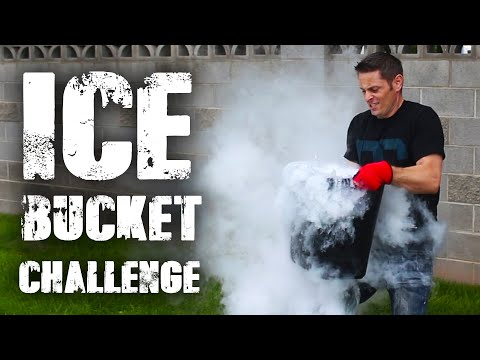 Ice Bucket Challenge - Dry Ice Version