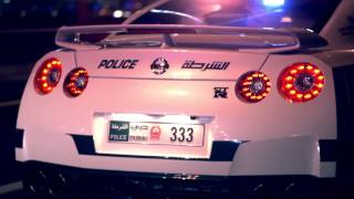 Dubai has world's fastest police car and it can go 253 mph