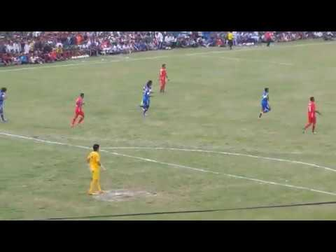 (Penalty shoot by Karna Limbu on Jhapa XI vs Army match - Duration: 70 seconds.)