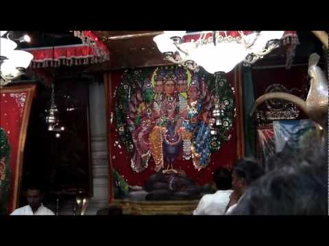 Puja to Kathirgama Kanthan:  This video shows Puja to Kathirgama Kanthan by the Sinhaelse priests with dedication and devotion.