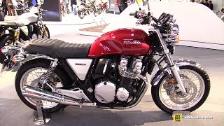 10. 2018 Honda CB1100 EX - Walkaround - 2017 EICMA Milan Motorcycle Exhibition