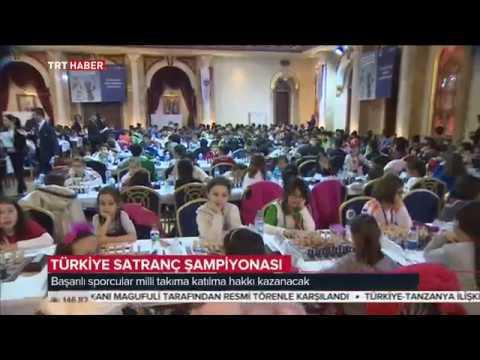 TRT Haber - Türkiye Küçükler, Yıldızlar ve Emektarlar Şampiyonası - 23 Ocak 2017