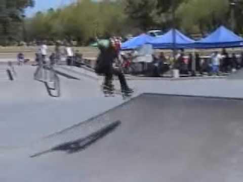 Wedge skatepark Scottsdale Arizona Competition 2009