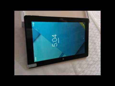 Tablet Pc Windows 10 + Android 5.1-10.1 Pulgadas 64gb 4 Ram