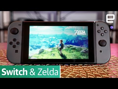 Nintendo Switch and The Legend of Zelda: Breath of the Wild | First Impressions (видео)